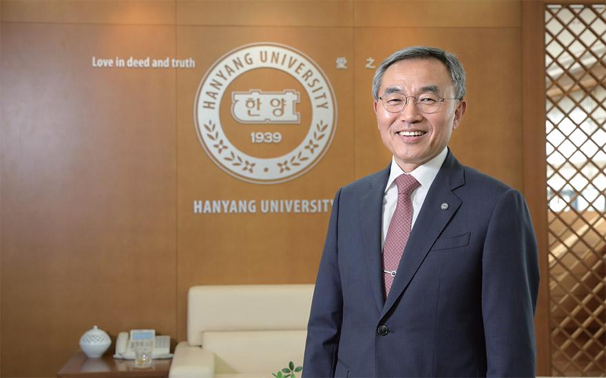김우승 한양대 총장님